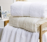 100% cotton terry hotel towel