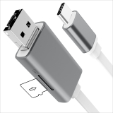 OTG Car U Disk USB Cable for iPhone, Samsung