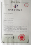 Practical New-type Patent Certificate