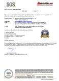DP lasers SGS certificate