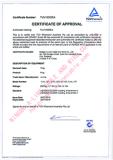 a-Line plug of TUV16355EA with SAA certification