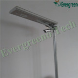 New design of solar street light with CCTV camera