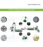 PP/PE flakes/film recycling washing line