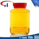 Clear Round Shape Glass Jar with Lid (CHJ8006)