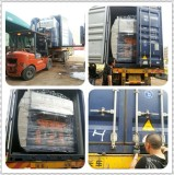 Live picture of shipment for thermoforming machine