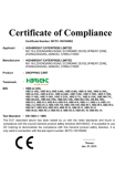 Shopping Trolley CE certificate