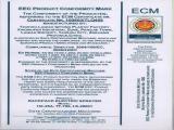 CE certificate of battery sprayer