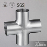 Sanitary Stainless Steel Cross Fitting
