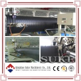PE Plastic Steel Winding Pipe Machine