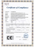 CE certification for UV laser cutting machine
