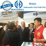Ambassador visit our stall Kenya July 2016