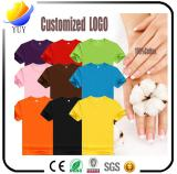 High quality 100% cotton made of Adult T-shirts and Children T-shirts and sports shirt for promotion