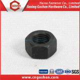 Black A194 Heavy hex nut