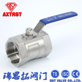 1PC stainless steel Floating Thread Reduce port ball valve