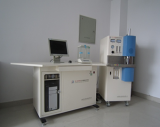 Infrared carbon and sulfur analyzer