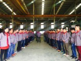 Have the meeting in Kunshan branch factory