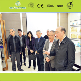 Provincial Leaders Visit on Show Rooms
