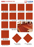 DAMP ROO TILE RED DODY