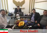 Meeting Customers In Iran Office