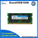 Factory directly sell laptop ddr2 4gb ram price