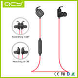 QY12 Bluetooth Neckband Noise Canceling Bluetooth Earphone with Magnet