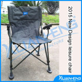 Round steel tube folding chair