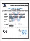 CE of solar controller