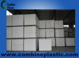 Combine Plastic have 2 big warehouses for PVC foam sheet