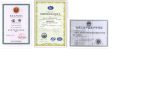 Certificate and Licence