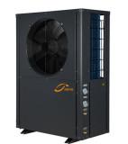 12kw Extramely cold -25C winter floor heating split EVI t hot water heater air source heat pump