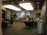 PE Rattan and Textilene furniture showroom in Foshan,Guangdong