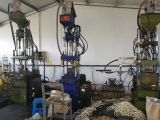 Bio filter media production line