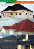 Roof tile house