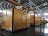 0.3 MPa low pressure permanent magnet screw compressors are to be tested