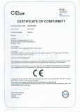 CE certificate for P series