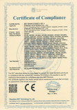 CE Certificate for CCTV Video Balun
