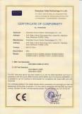 EDS800 CE certificate