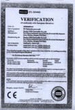 CE Certification for DC motor