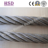 E.Galvanized or stainless steel wire rope
