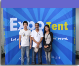 The customer of expo tent