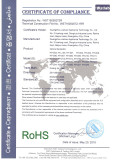 RoHS Certifiction of Ozone Generator