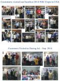 Customers visit us season III 2014