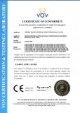 CE Certificate for SGMC Contactors