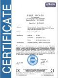 CE/EC certification of Desktop Dangerous Liquid Scanner AT1000