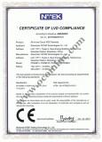 POS Terminal CE LVD Certificate