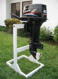 Outboard motor 2-stroke 40HP with electric start and remote control system