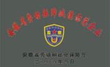 Anhui Labor Ensure Credible Demonstration Enterprise Certificate