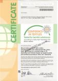 Confidence in Textiles - OekoTex Standard 100 BEWO 065438