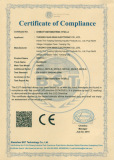 certificate on products