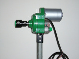 greenhouse poly film roll up motor